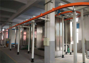 Automatic Wire Mesh PVC Coating Line For Square Hole Wire Mesh Fence Panel